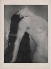 MAN RAY - NUDE * OFFSET LITHOGRAPH from VERVE 1937 very rare brassai