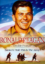 Ronald Reagan Hollywood Classics - Santa Fe Trail/This is the Army (DVD, 2014)