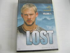 LOST- SERIES 1 PART 1 Vol 3 Epis 9 - 12    (L56) {DVD}