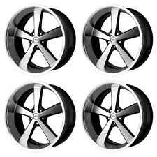 AMERICAN RACING HOT ROD VN701 NOVA VN70122950315 4 RIMS 22X9 15MM 5x127 G-BLACK