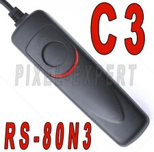 RS-80N3 CANON SCATTO REMOTO TELECOMANDO EOS 1D MARK II III IV 1DS 6D 5D RS80N3