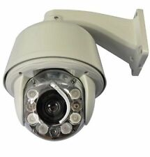 CCTV 700TVL Auto Tracking High speed Zoom x30 IR Outdoor PTZ Dome Kamera Wiper