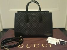 100% Authentic Gucci Black Diamante Handbag