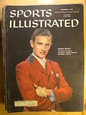 Sports Illustrated Magazine November 3 1958 Equestrian First Landing Chess