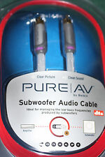 Subwoofer Audio Cable - Pure AV by Belkin - 15ft / 4.6m