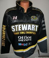 Tony Stewart 2011 Sprint Cup 3-Time Champion Jacket - Mens Medium Free Ship