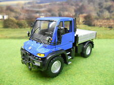 WELLY 1/32 MERCEDES BENZ UNIMOG U400 TIPPER IN BLUE 32380F BOXED *UK EXCLUSIVE*