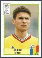 PANINI EURO 2000-BLACK BACKS- #047-ROMANIA-ADRIAN MUTU