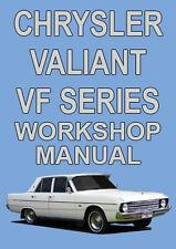 CHRYSLER VALIANT VF SERIES 1969-1970 WORKSHOP MANUAL
