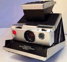 "Polaroid SX-70 PolaSkinz ""Black"" Ostrich Italian Replacement Skinz SLR680/690"