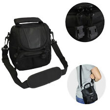 Small Nylon Waterproof Camera Shoulder Bag Case Handbag For Nikon Canon SLR DSLR
