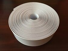 """1 1/2"""" Vinyl  Strapping For Patio Furniture 30' Roll  White"""