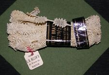 Antique 6 YARD Package GERMAN TURTLE BRAID Novelty Trim Lace Making Crochet