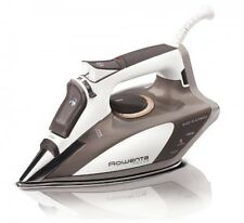 Rowenta Focus Steam Iron with 400-hole Stainless Steel Soleplate, Beige, DW5080