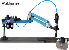 Vertical Type Pneumatic Air Tapping Machine M3-M12 Drilling & Tapping Tool NEW
