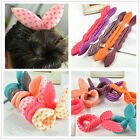 Magic Rabbit Ear Sponge Foam Donut Holder Hair Styling Curl Bun Maker Ring Twist