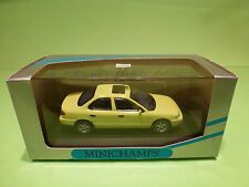 MINICHAMPS FORD MONDEO - PAUL'S MODEL ART - YELLOW 1:43 - NMIB