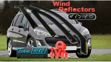 Peugeot 308  SW 2008-2013 estate 5 Doors Wind Deflector 4 pcs. HEKO (26134)