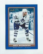 2005-06 Beehive Blue #140 Andrew Wozniewski Rookie Maple Leafs