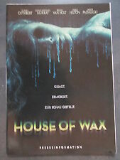 HOUSE OF WAX - Presseheft - HORROR - Elisha Cuthbert, Paris Hilton