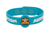AllerMates AUTISM Puzzles Wristband Medical Alert ID Silicon Jewellery Bracelet