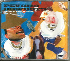 PSYCHO COWBOYS Come on baby w/ UNRELEASED TRK & DEMO UK CD single SEALED 1999