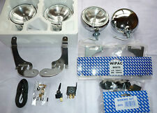 BMW Mini Cooper S 01-06 Chrome Spot Lights Wipac Originals + full kit