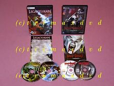 2x PC _ Blood Omen 2 & Legacy of Kain Defiance _ muy buen estado