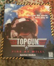 Top Gun: Fire at Will (PC, 1995) IBM PC. Brand new and sealed. NIB