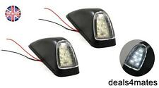 2X WHITE 8 LED OUTLINE CORNER ROOF LIGHTS LAMPS SIDE MARKER FOR MERCEDES RENAULT