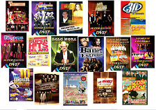 16 Different Spanish Music DVD's *NEW* Videos by Cardenales, Rehenes, Liberacion