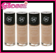 4 x REVLON COLORSTAY 24HR FOUNDATION MAKEUP ❤ COMBINATION/OILY ❤ 200 NUDE