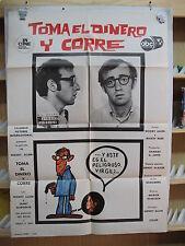 61    TOMA EL DINERO Y CORRE WOODY ALLEN