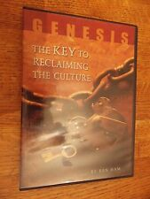Genesis The Key to Reclaiming the Culture Ken Ham DVD VGC