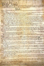 US CONSTITUTION POSTER - 24x36  AMERICAN REVOLUTION HISTORY EDUCATIONAL 10380