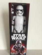 Star Wars The Force Awakens 12 Inch Hero Series First Order Stormtrooper NEW!!