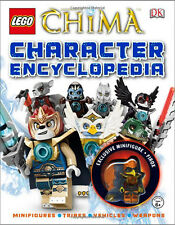 LEGO Legends of Chima Character Encyclopedia ( Includes EXCLUSIVE Minifigure! )