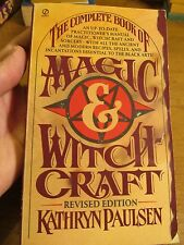 The Complete Book of Magic and Witchcraft by Kathryn Paulsen (1970, Paperback, R