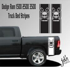 Dodge Ram 1500 2500 3500 Truck Bed Stripe Vinyl Decal Sticker Hemi Skull Mopar