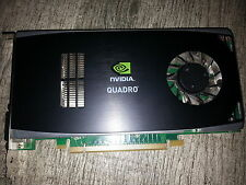 NVIDIA QUADRO FX1800 768MB PCI-E  DUAL DISPLAYPORT AND ONE DVI PORT VIDEO CARD