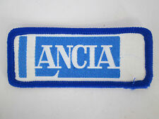 LANCIA SEW ON PATCH BADGE RETRO VINTAGE 1970S NEW OLD STOCK FREE P&P
