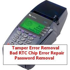 Verifone TAMPER, Bad RTC Chip, Password Removal for Vx 510 Vx510LE Vx 570 Vx 610