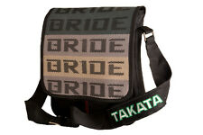 JDM Bride Cross Bag Satchel with Black Takata Strap