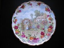 Royal Albert 1986 Old Country Roses Garden Celebration Collectible Plate
