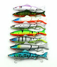 New 1pcs Fishing Lures Spinner Baits Crankbait Assorted Fish Tackle Hooks SM