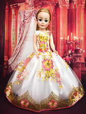 """Madame Alexander Cissy 20"""" 21""""  Lace Handmade Wedding Fashion Dress Gown Outfit"""