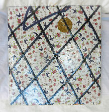 Large Fabric Covered Wall Hanging Memo / Message / Display Board - BNWT