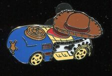 2016 Racers Cars Mystery Toy Story Woody Disney Pin