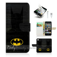 iPhone 5C Print Flip Wallet Case Cover! Super Hero Batman P0128