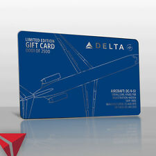 Delta Air Lines:  Limited Edition DC-9 Gift Card ($50 Gift Card Value)
